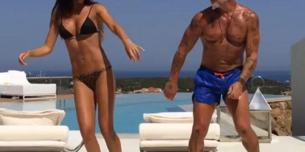 J Balvin pone a bailar al famoso millonario Gianluca Vacchi
