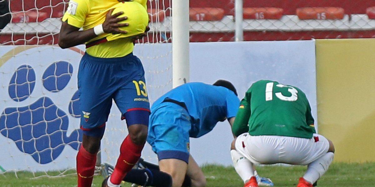 Enner Valencia prometió un gol para su esposa