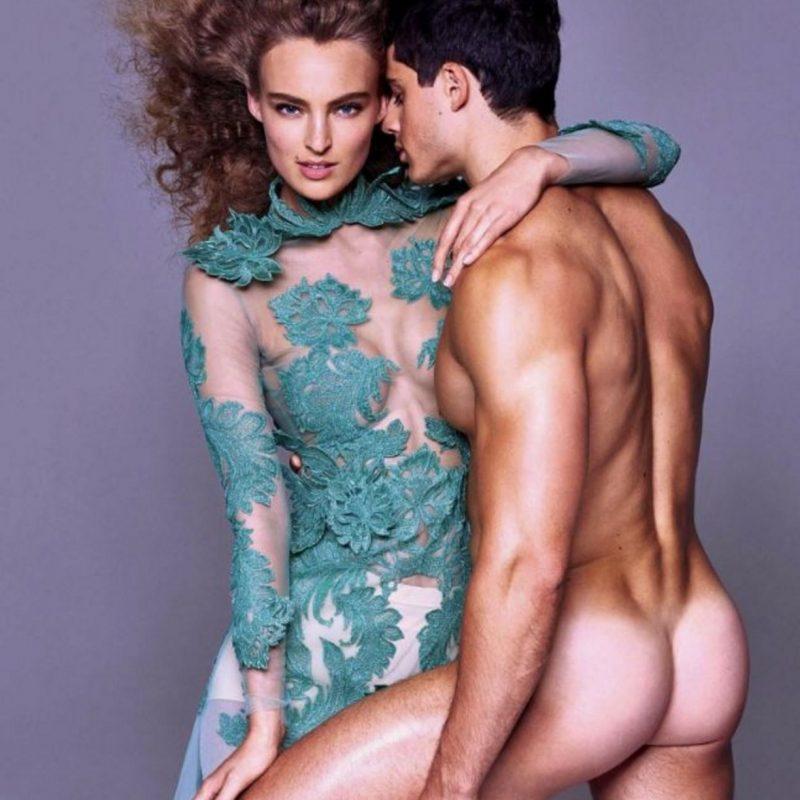 """Pietro Boselli, el """"maestro más guapo del mundo"""" se desnuda. Imagen Por: Vía instagram.com/philippevogelenzang/"""