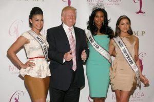 Exreinas de belleza dicen que Donald Trump las veía cambiarse de ropa. Imagen Por: Getty Images