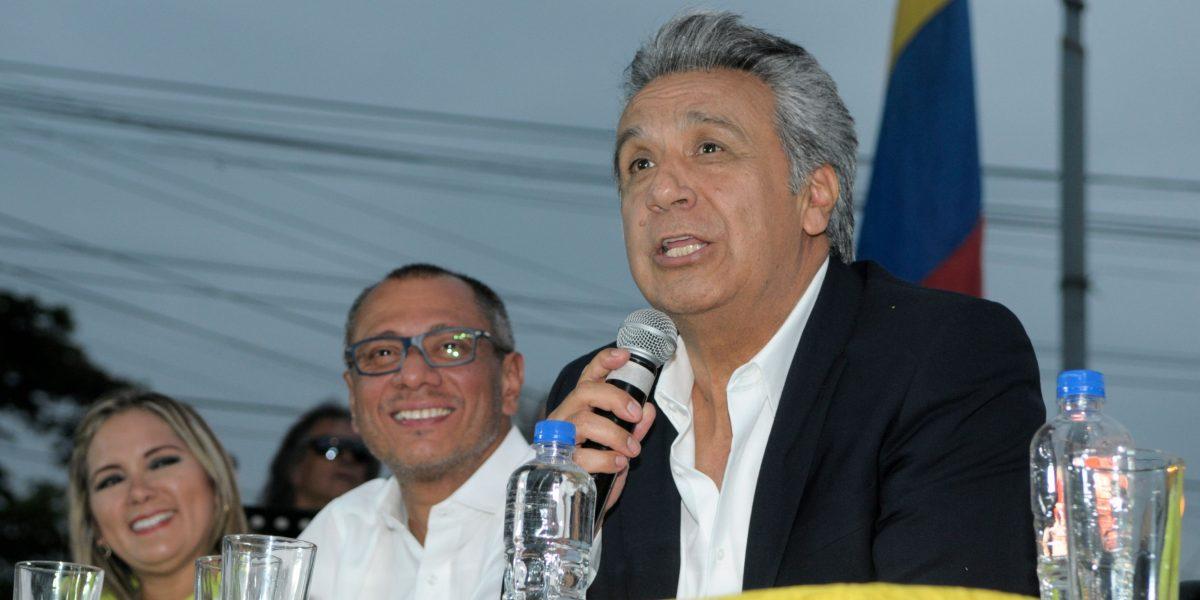 Lenín Moreno y Alianza País postergó inscripción de su binomio
