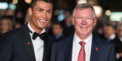 Cristiano Ronaldo y Alex Ferguson. Imagen Por: Getty Images