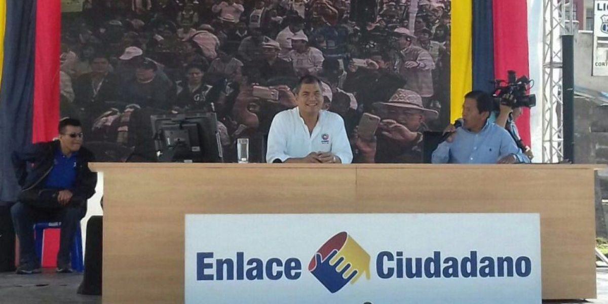 Rafael Correa mandó ley para planificar feriados