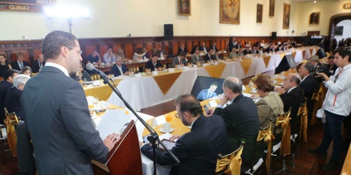 Declaración de Quito fue aprobada por los alcaldes