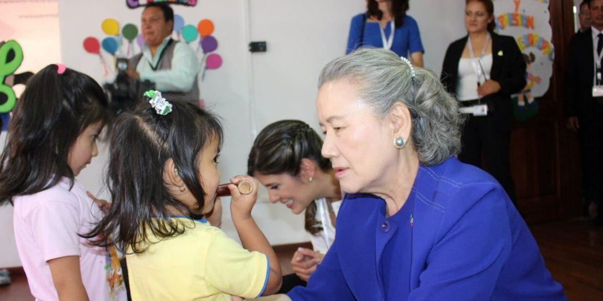 Esposa de Ban Ki-moon, visitó centros del Patronato San José