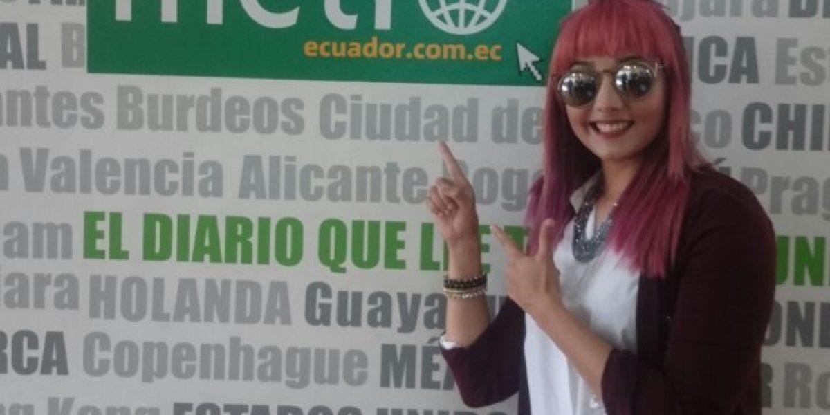 Yesy Milano trajo a Ecuador su tema