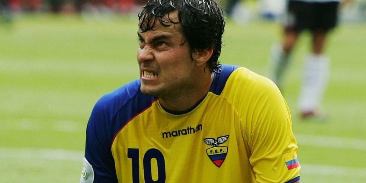 Iván Kaviedes visitó a la selección