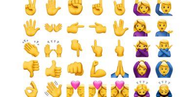 Los nuevos emojis de iOS 10. Imagen Por: Emojipedia