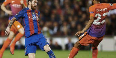 Barcelona goleó 4-0 a Manchester City con hat trick de Messi
