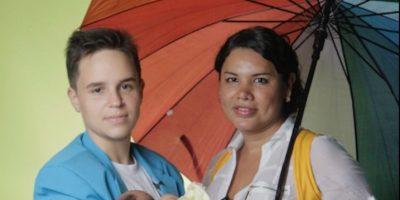 Diane y Fernando desean tener más hijos