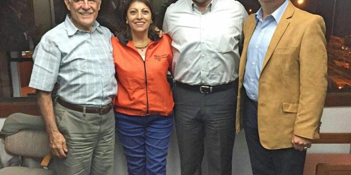 Jimmy Jairala y Paco Moncayo hicieron un acuerdo político