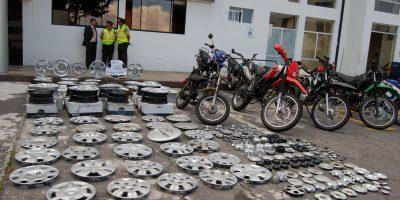 Reconozca objetos robados en bodegas de la Policía Judicial en Quito