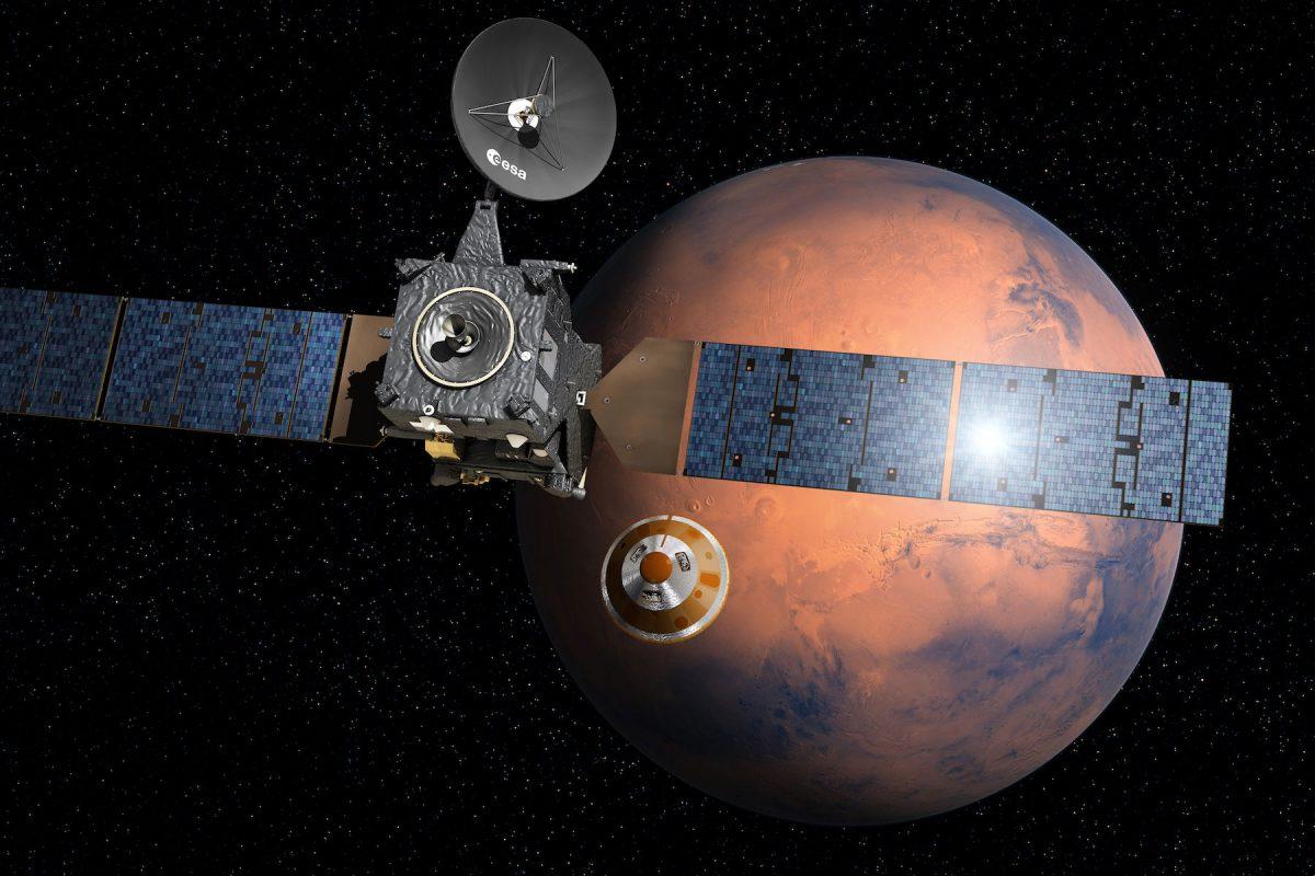 ExoMars: Nadie sabe qué pasó con el nuevo explorador que llegó a Marte. Imagen Por: AFP