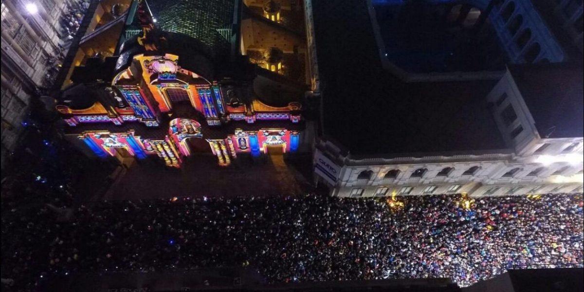 Miles de personas se despidieron de la Fiesta de la Luz