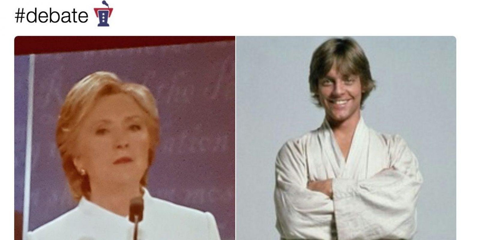 Trump vs Clinton: Los memes que dejó el debate presidencial final. Imagen Por: Twitter.com