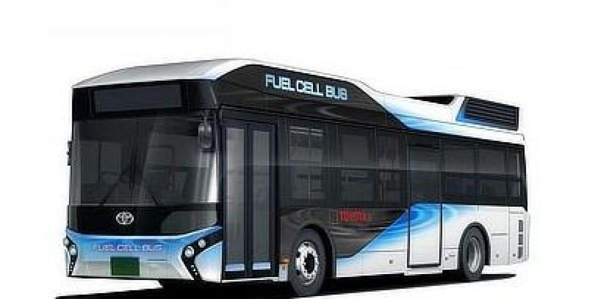 Diseñan un autobús que funciona con hidrógeno y genera energía