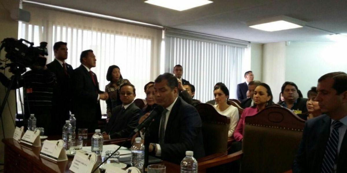 Correa presentó propuesta de consulta popular sobre paraísos fiscales
