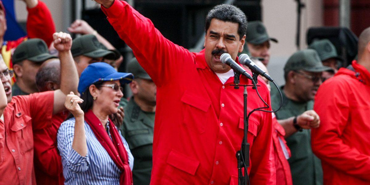Maduro dijo no estar