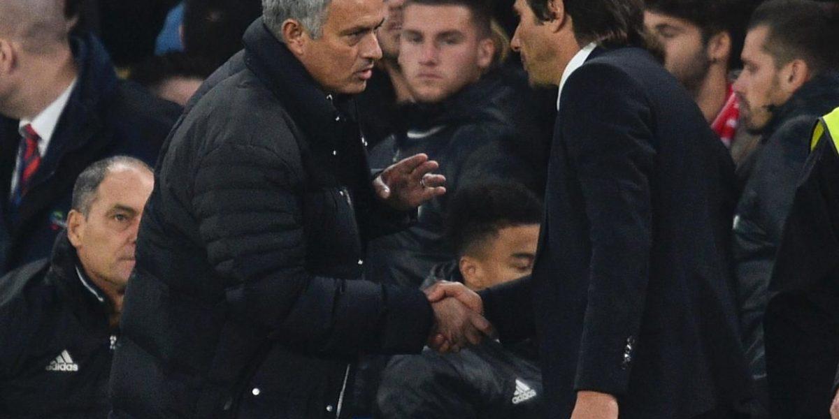 Conte afirma que no ofendió a José Mourinho