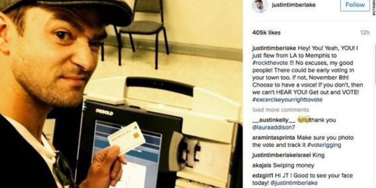 Una selfie de Justin Timberlake podría llevarlo a prisión
