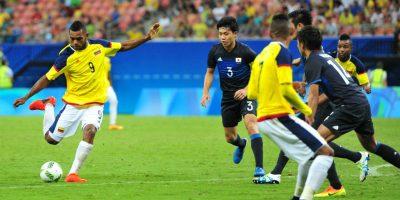 Miguel Borja, el goleador colombiano que compite con Lionel Messi. Imagen Por: Getty Images