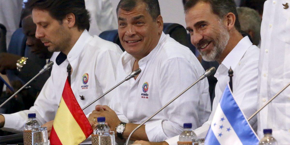 Correa propone un fondo regional de solidaridad con Haití