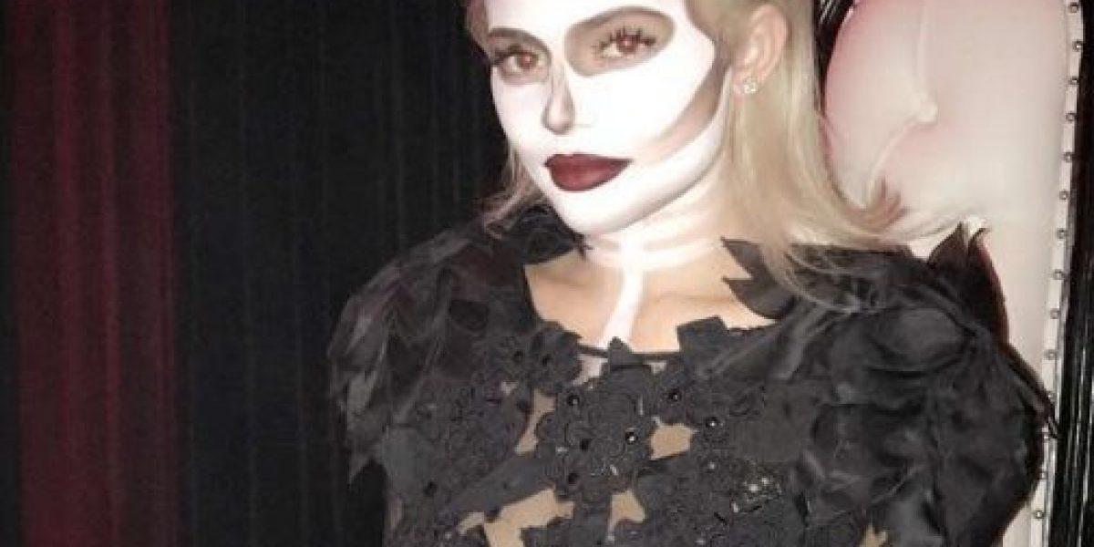 Así celebran Halloween Kylie Jenner, Tyga y Kendall