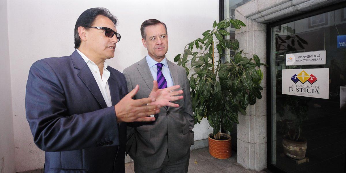 Villavicencio pagará indemnización a Correa para inscribir su candidatura