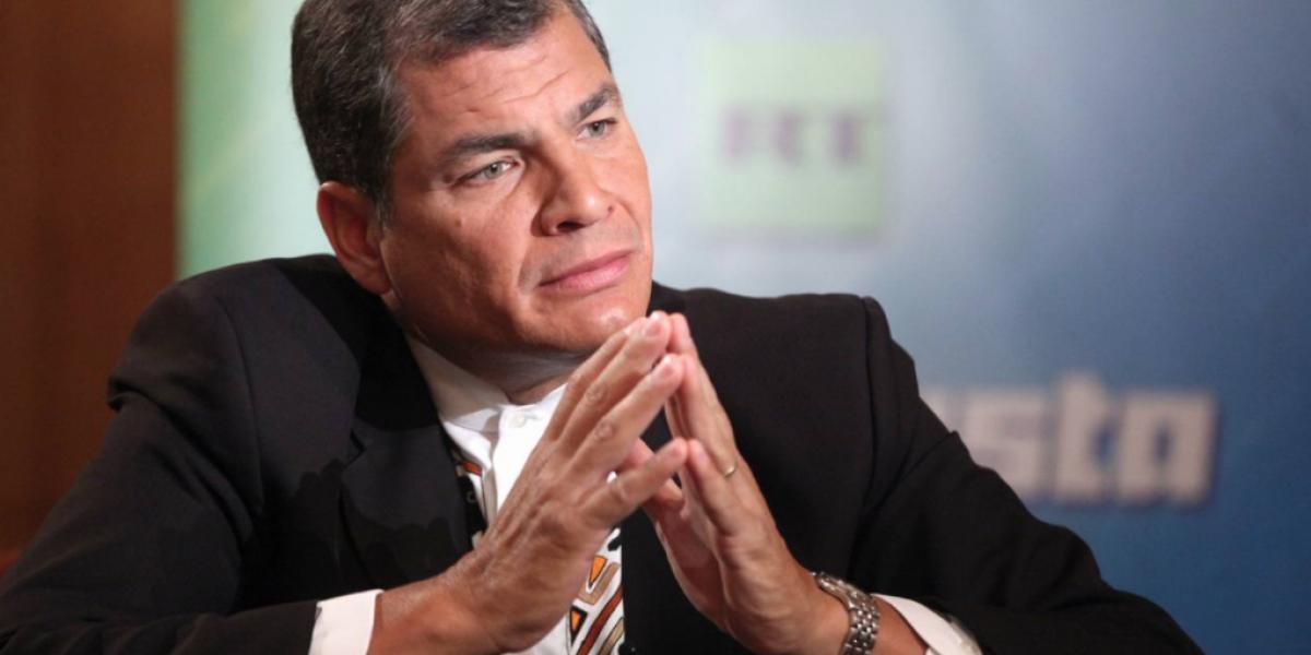 Rafael Correa promete investigar la muerte de Vivian Luzuriaga