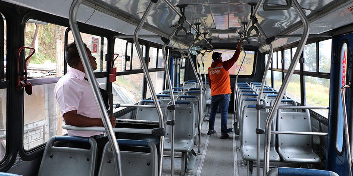 Plan de supervisión y fiscalización de transporte público durante el feriado