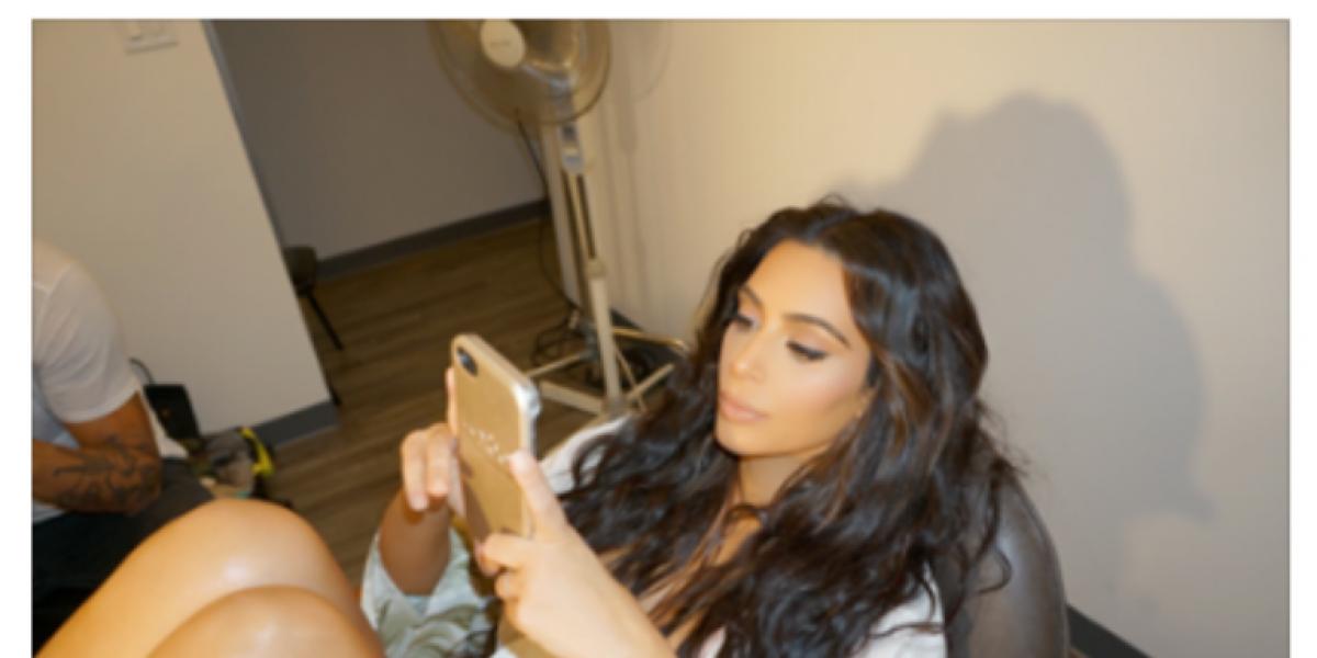 Kim Kardashian reapareció en redes sociales pero después se arrepintió