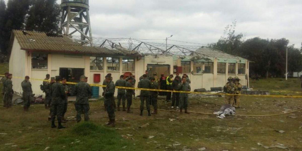 Un fallecido en la Brigada Patria luego de una explosión