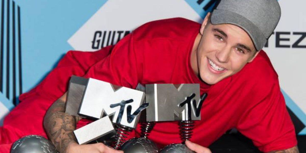 Justin Bieber y Lady Gaga triunfaron en los Premios MTV Europe