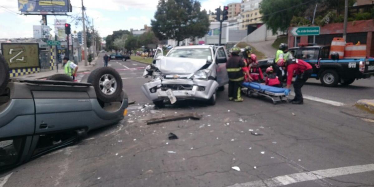 Un total de 750 accidentes de tránsito se registraron en el feriado