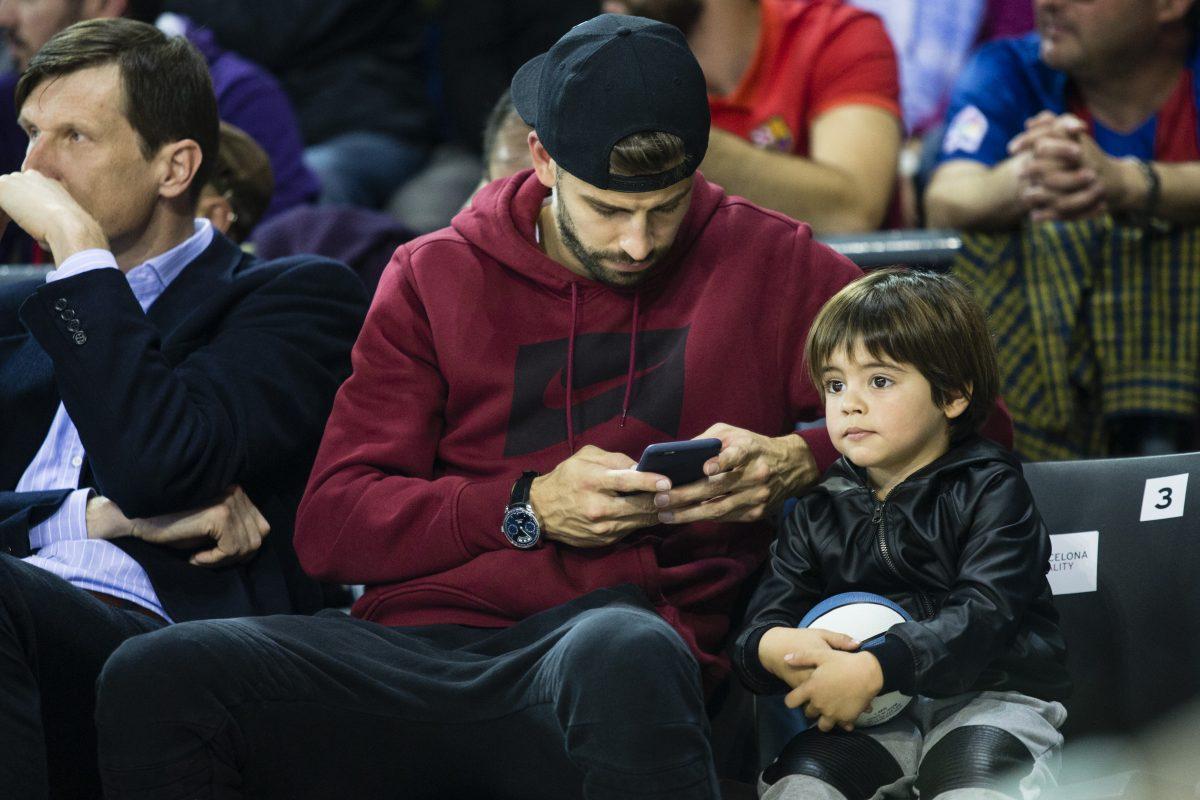 Fotos: Reaparece hijo de Shakira después de ser hospitalizado. Imagen Por: Grosby Group