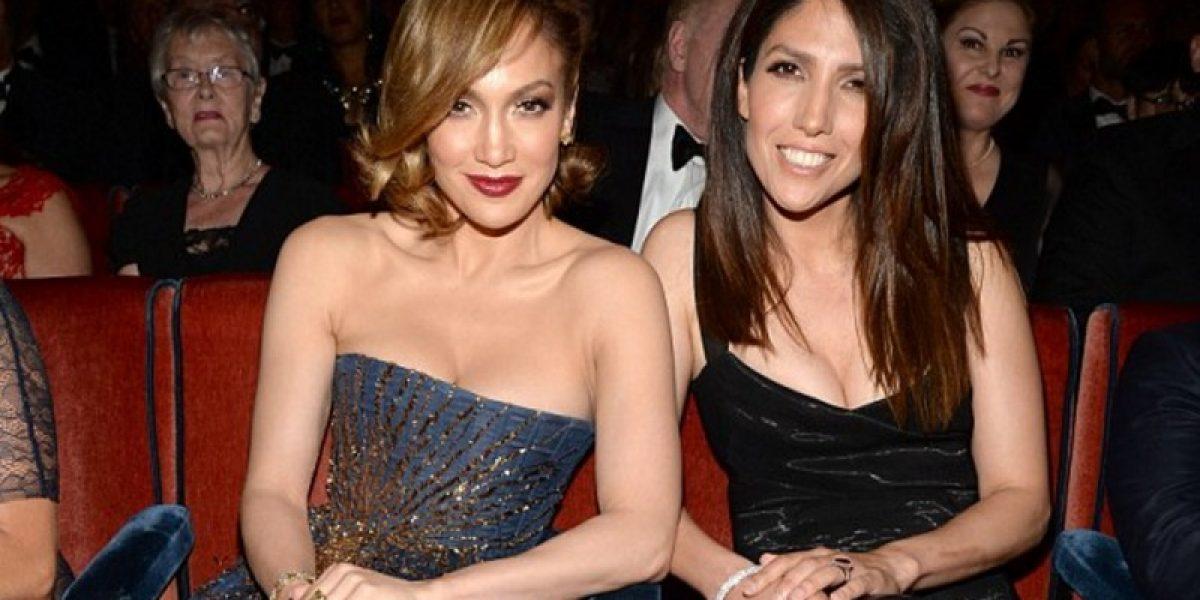 Ella es la hermana de Jennifer López que no se parece nada a la cantante
