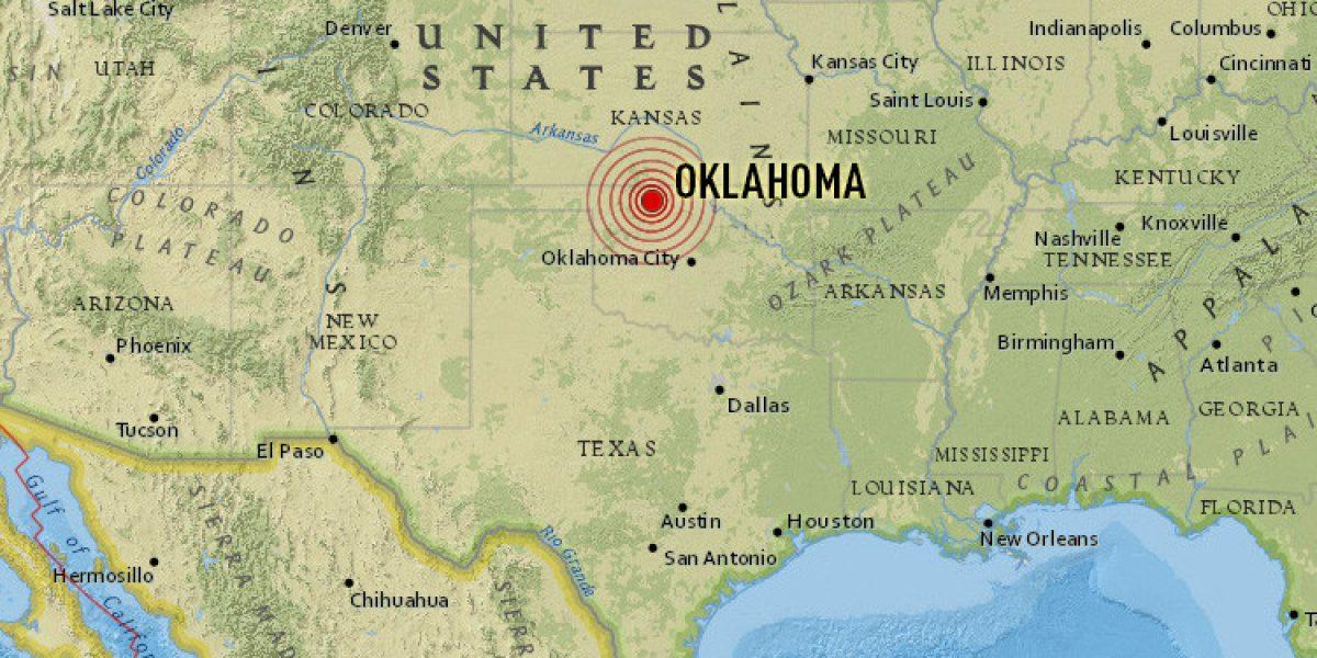 Un sismo de 5 grados sacudió el centro de Oklahoma