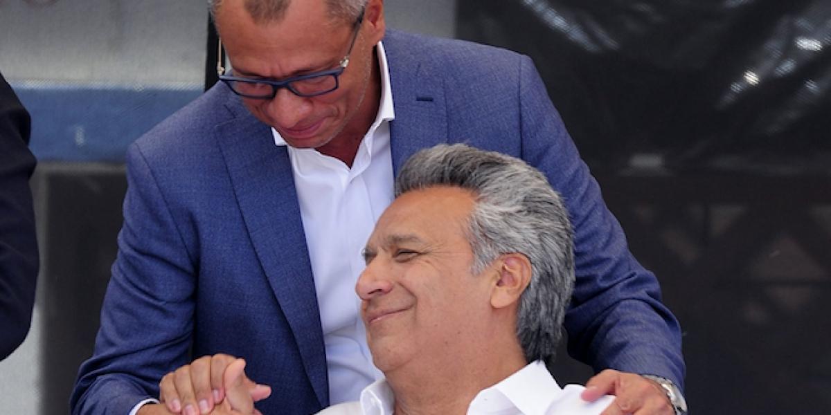 Lenín Moreno aseguró que no habrá cambio de binomio