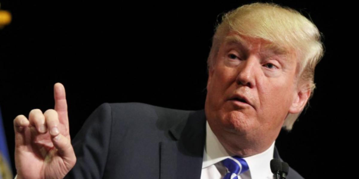 Trump reiteró que no aceptará los resultados