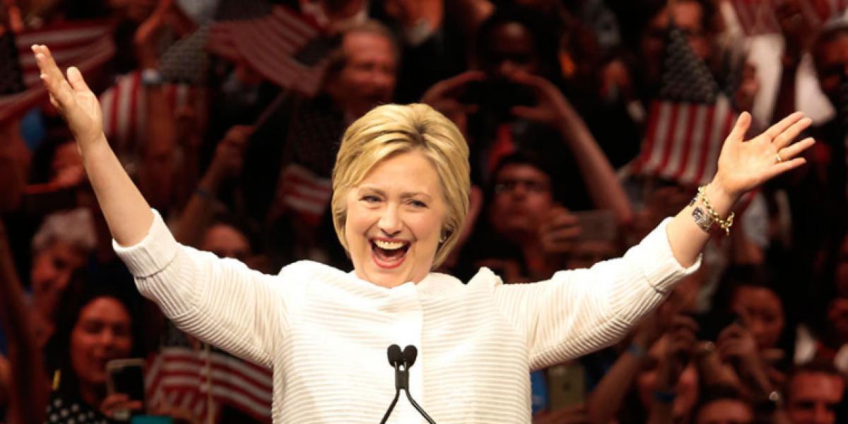 Hillary Clinton encabeza un 80% las probabilidades de ganar elecciones