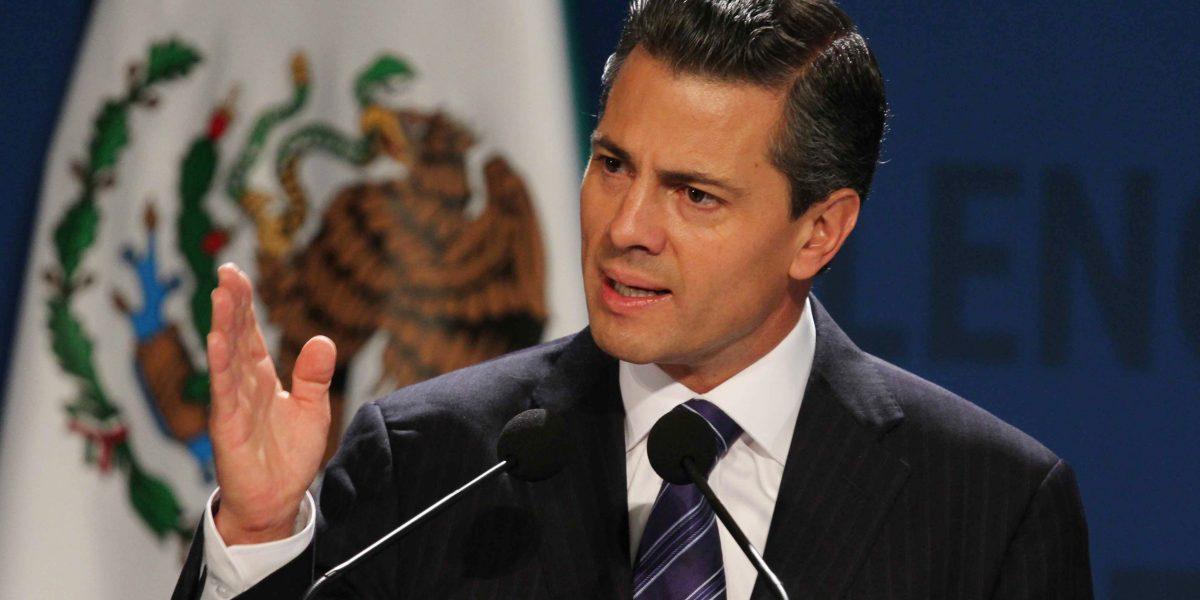 Enrique Peña Nieto felicitó a Donald Trump