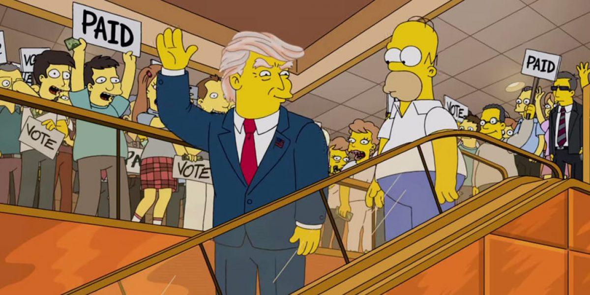 Los Simpson predijo la presidencia de Donald Trump
