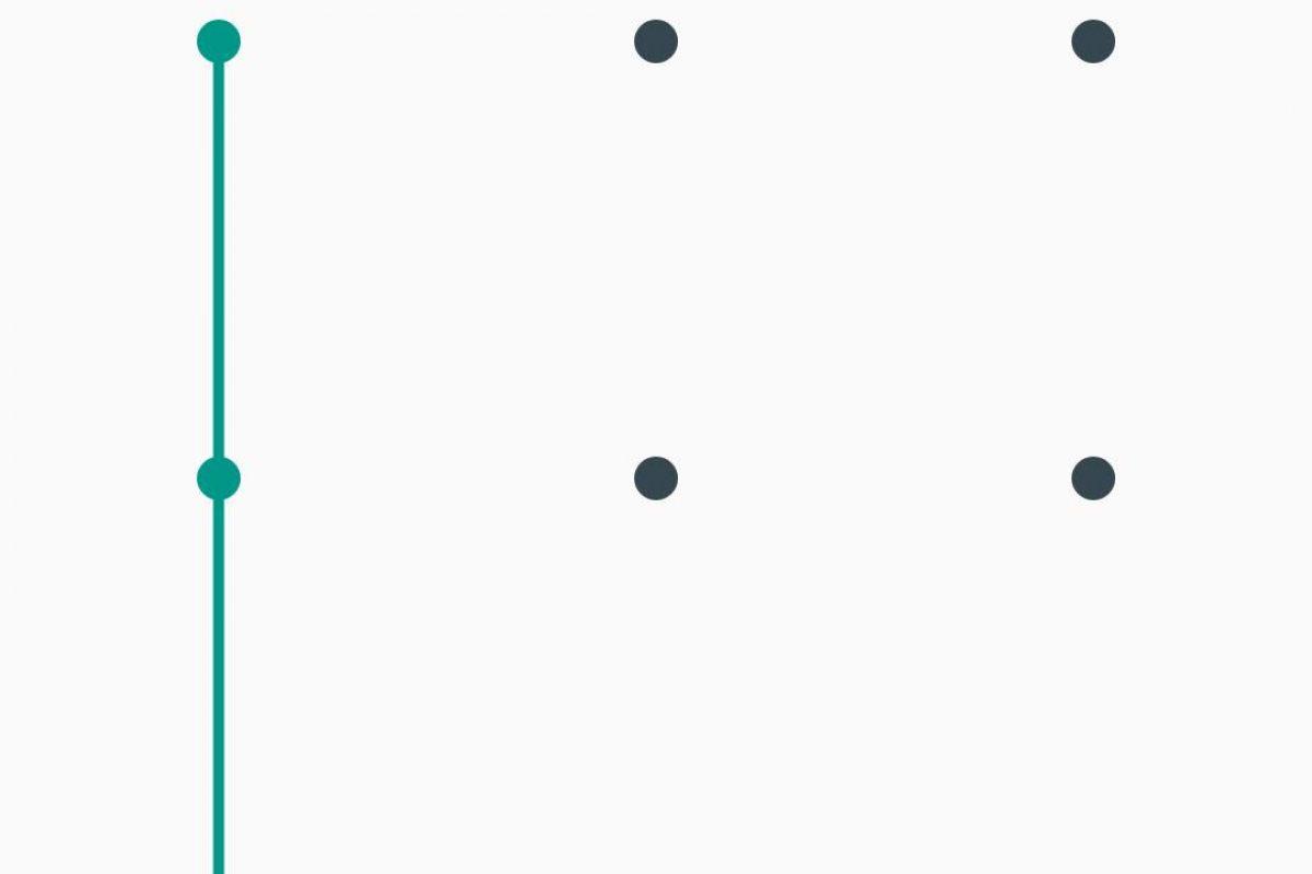 Patrones de desbloqueo que jamás deben usar en su celular. Imagen Por: Captura