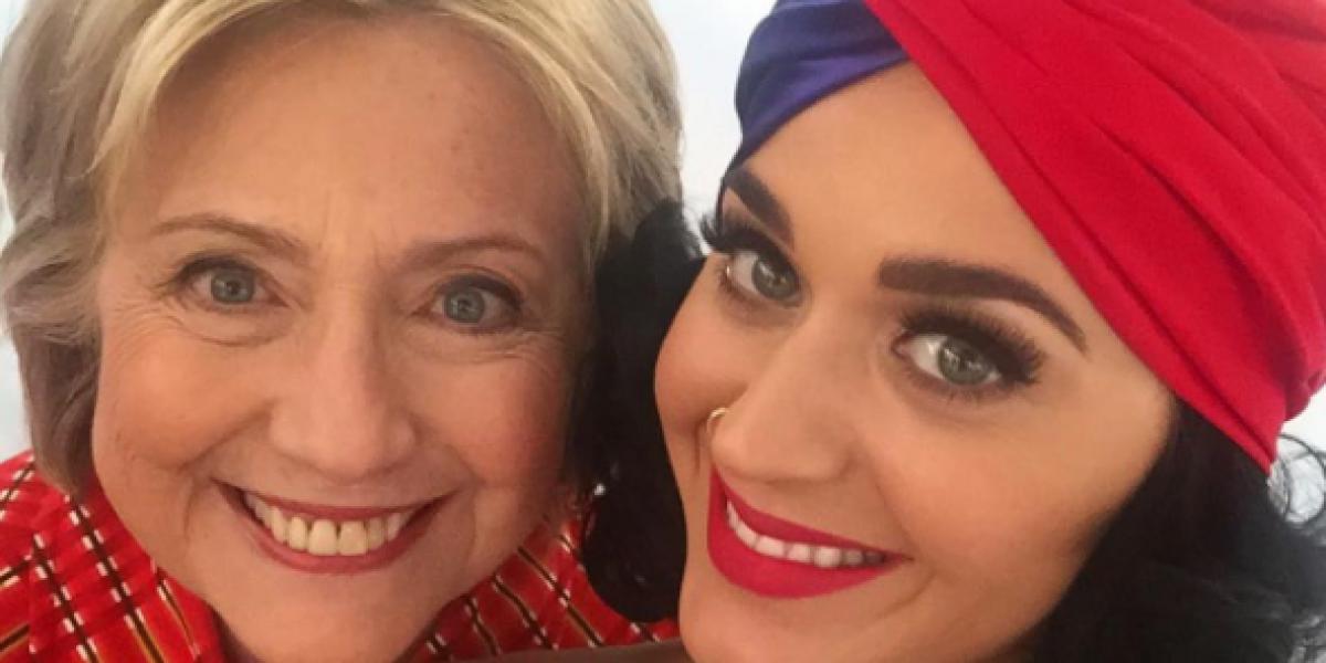 Los que traicionaron a Katy Perry con Trump