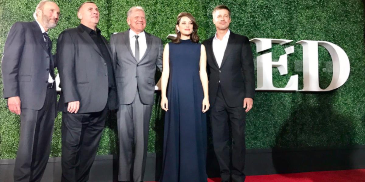 Brad Pitt rompió el silencio acompañado de Marion Cotillard