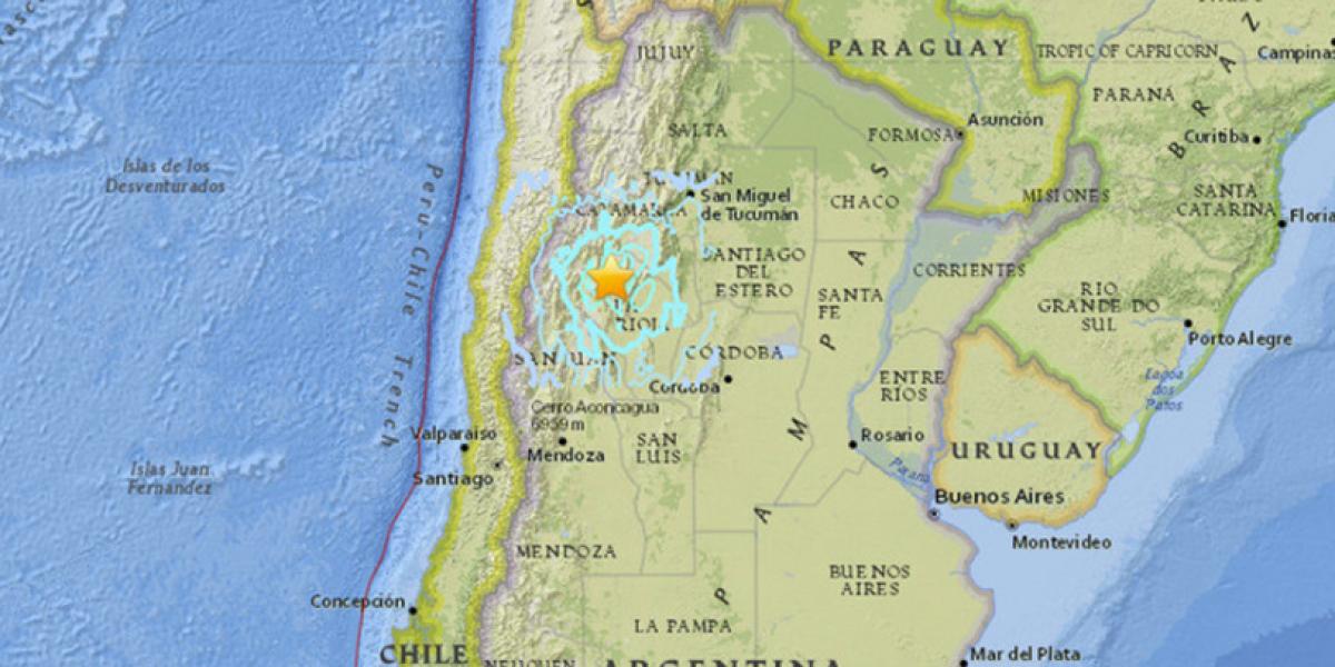 Un segundo fuerte sismo sacude Argentina en menos de 24 horas