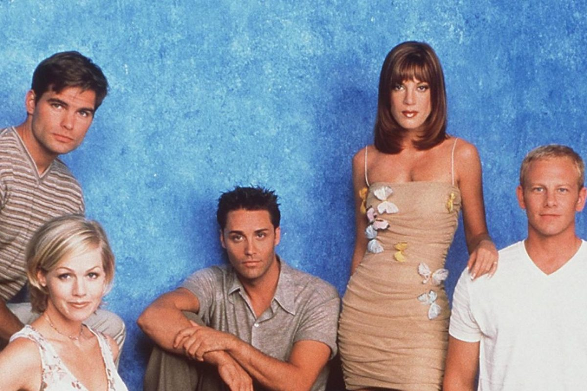 Beverly Hills 90210: Actores se reúnen y dan mensaje a Shannen Doherty. Imagen Por: FOX