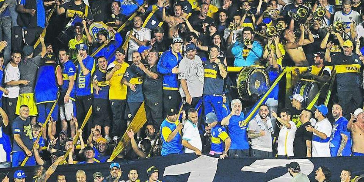 Preso el número 3 de la barra 12 de Boca Juniors