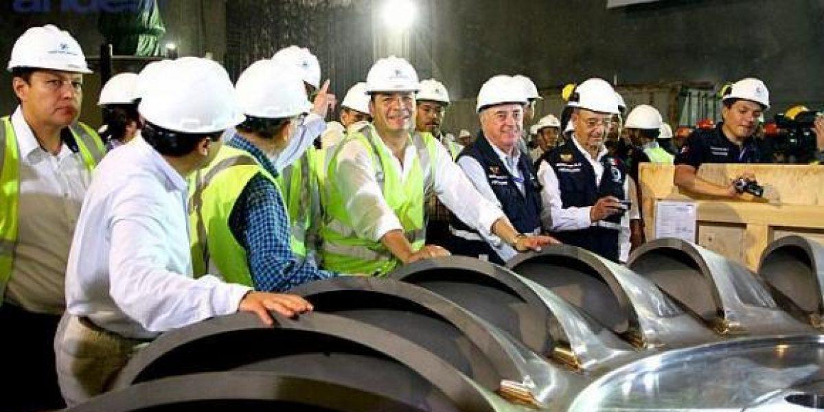 Presidentes Ecuador y China presenciarán inauguración central hidroeléctrica