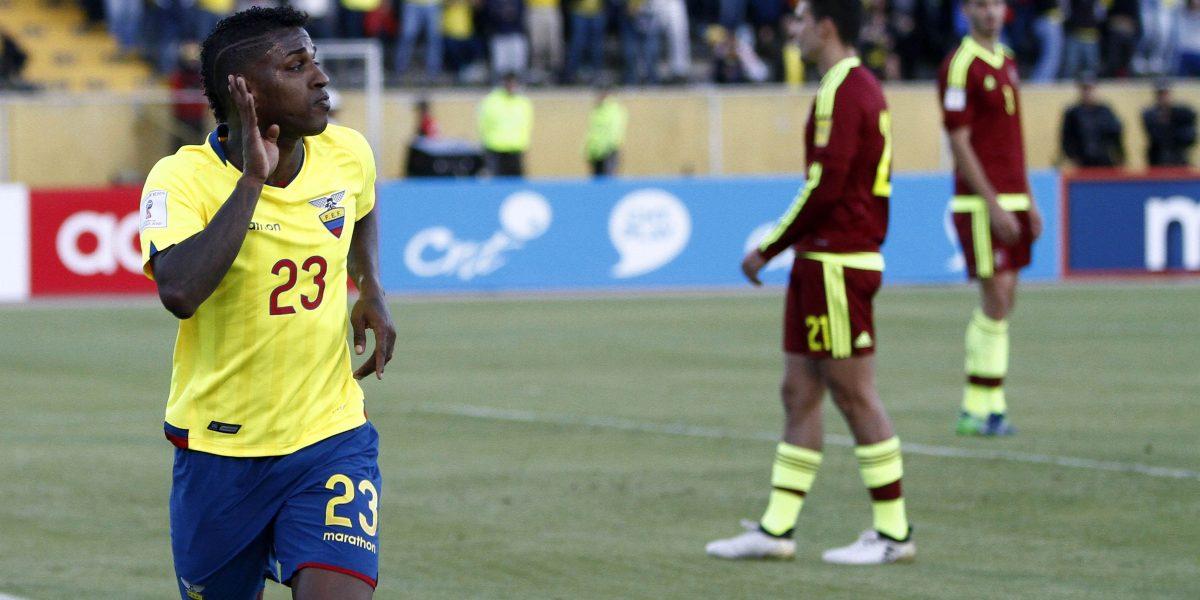 Ecuador, 20 en el ranking de la FIFA